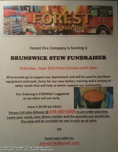 Brunswick Stew September 26th